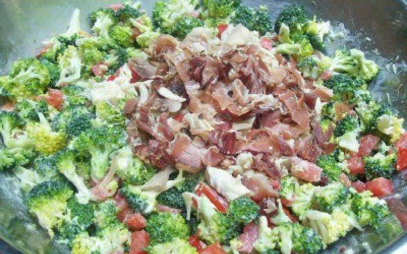 Recette brocolis aux lardons pas ch re et rapide cuisine - Cuisine pas chere et facile ...