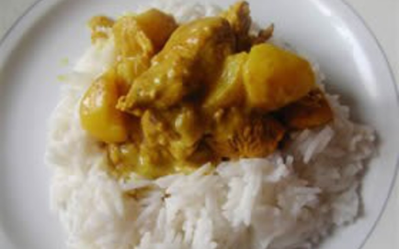 Escalope de Dinde au Curry