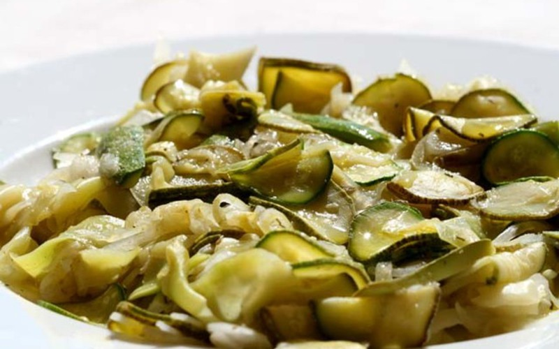 Recette courgettes au citron pas ch re et rapide cuisine - Cuisine sans four etudiant ...