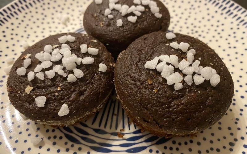Muffins au chocolat et à la patate douce