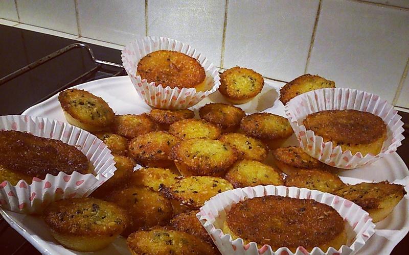 Muffins à l'orange et aux graines de sésame