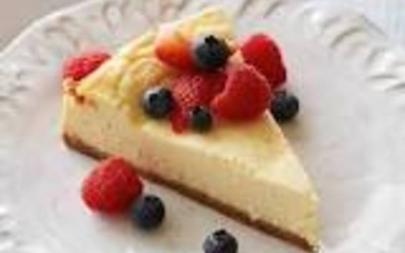 Cheese cake aux fruits rouges inratable!