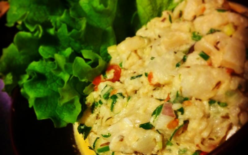 Ceviche de poisson façon Thaï