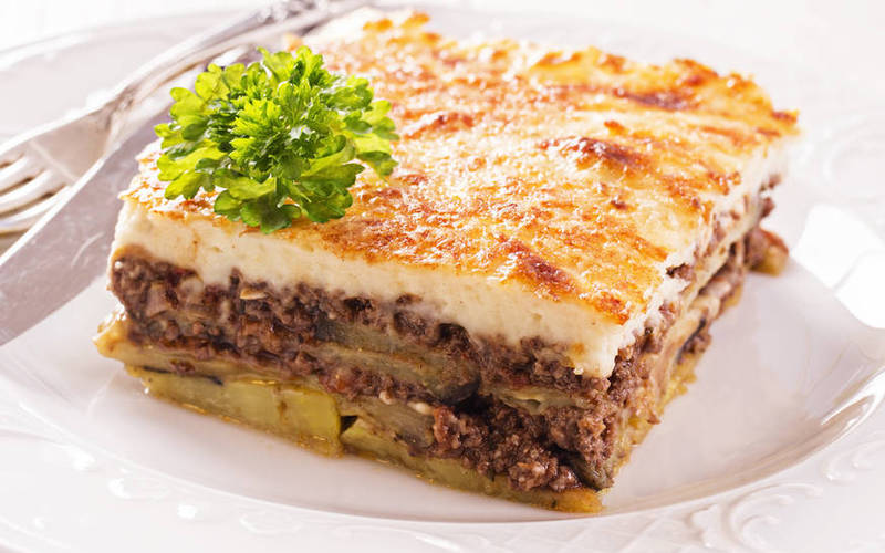 Moussaka Grecque traditionnelle