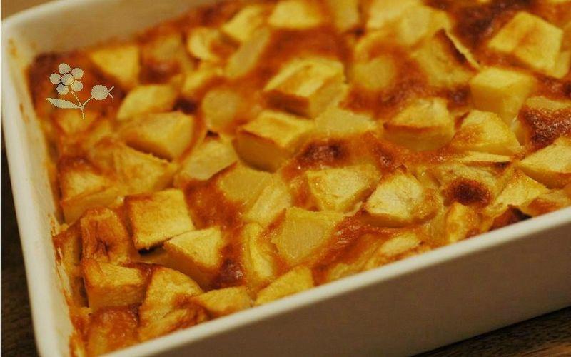 clafouti aux pommes et poires ( super facile)