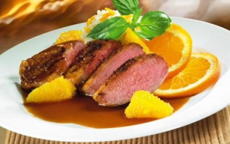canard à l'orange ( recette vintage)