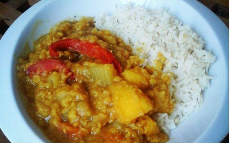 Curry Mangue-Poivron