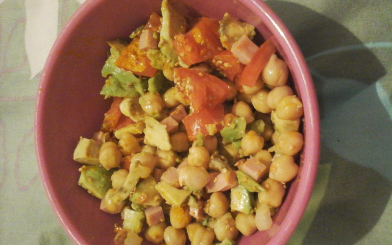 Salade composée qui tient au corps