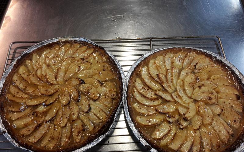 Tartes Aux Pommes Maison
