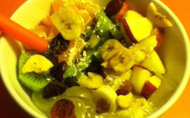 Yaourt et ses fruits frais façon Brunch