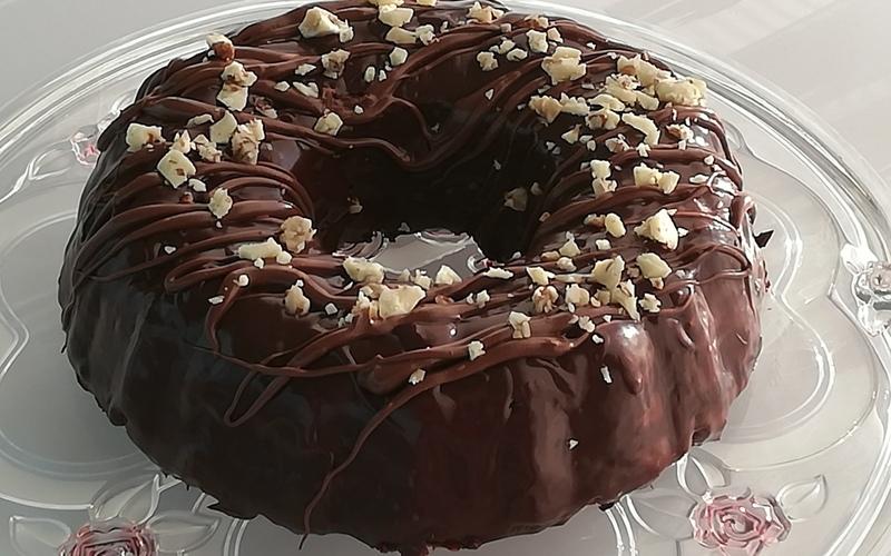 Moelleux au chocolat avec son glaçage