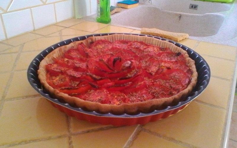 Tarte à la tomate (façon provençale)