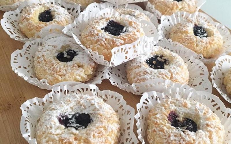 Biscuits sablés coco/citron