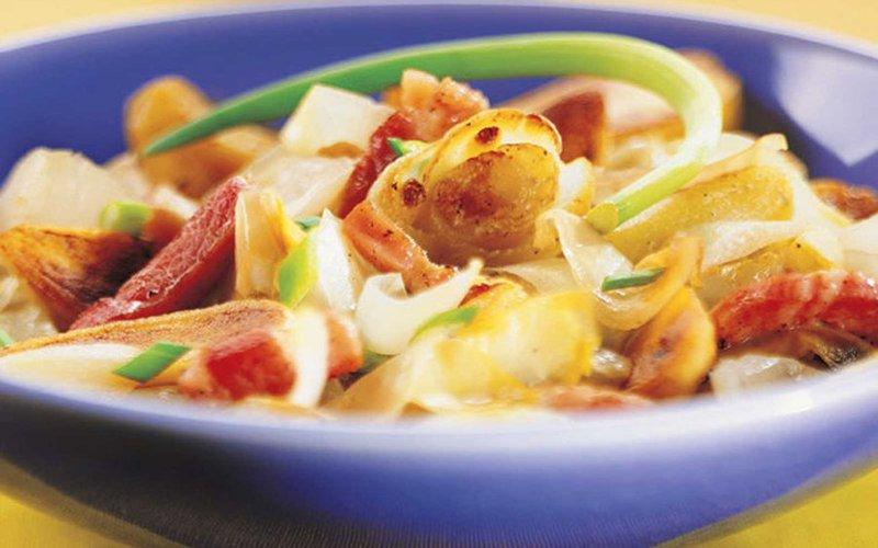 Recette endives cuites aux lardons pas ch re et simple - Cuisine sans four etudiant ...