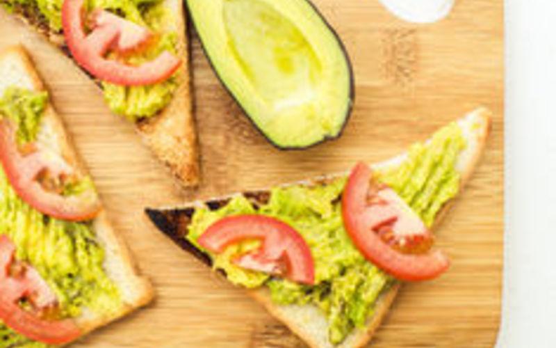 sandwich vegan à l'avocat