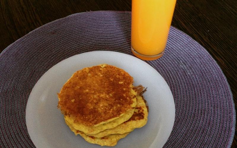 Pancakes au flocon d'avoine ( allégé )