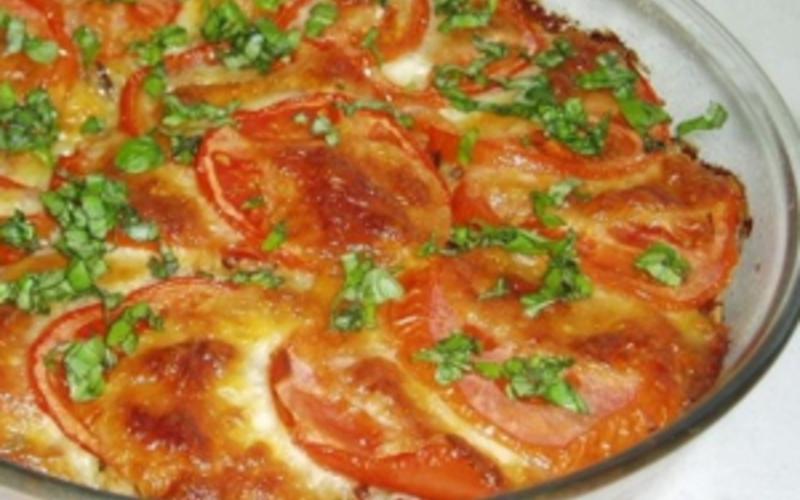 Gratin de thon aux tomates
