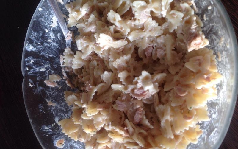 Salade pâte thon