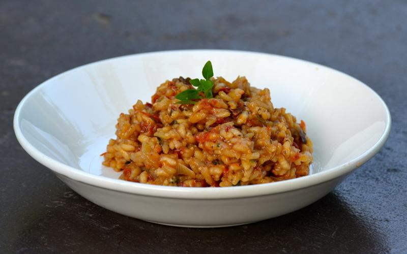 risotto aux légumes du soleil ( simplissime)