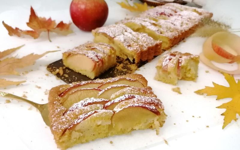 Gâteau façon tarte aux pommes