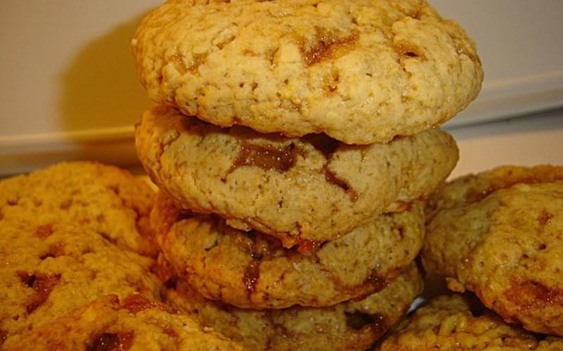 Cookies pommes caramélisées