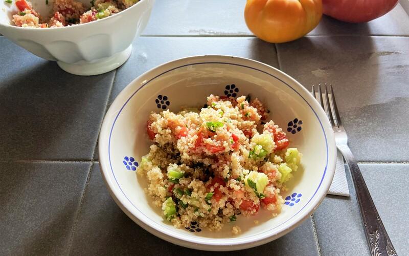 Taboulé de Quinoa Libanais Healthy