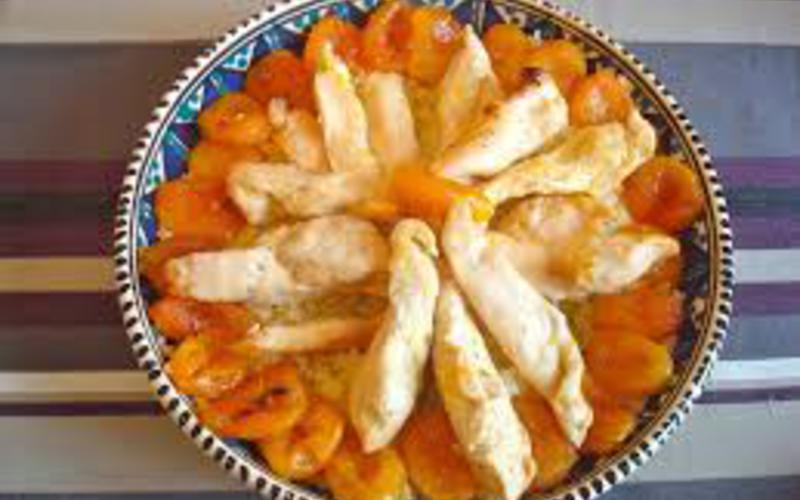 Poulet aux abricots de Fanny