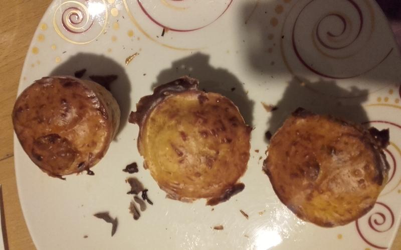Minis cakes épicés