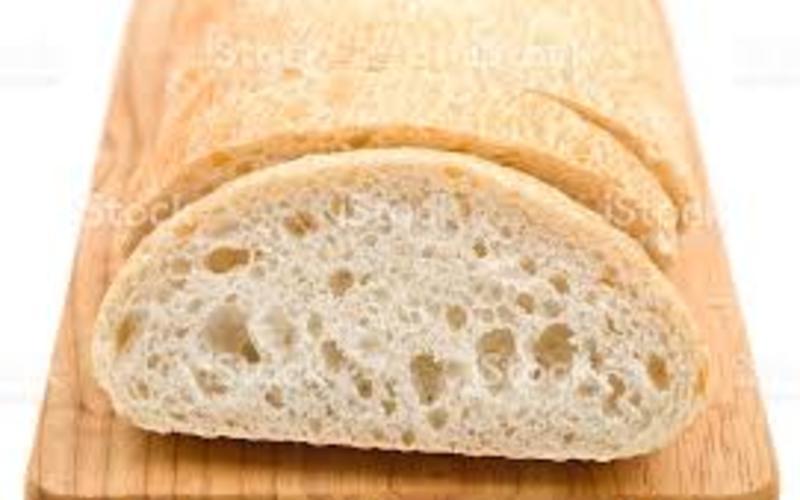 pain ciabatta ( fait maison)
