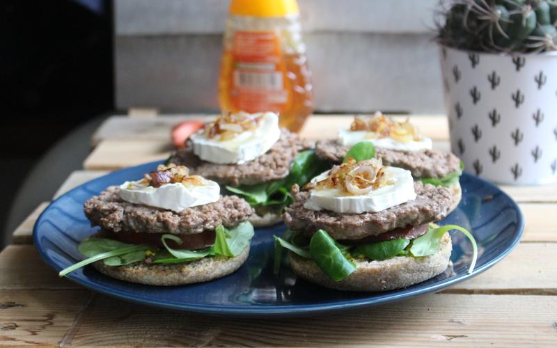 Muffin burger par polyphagus