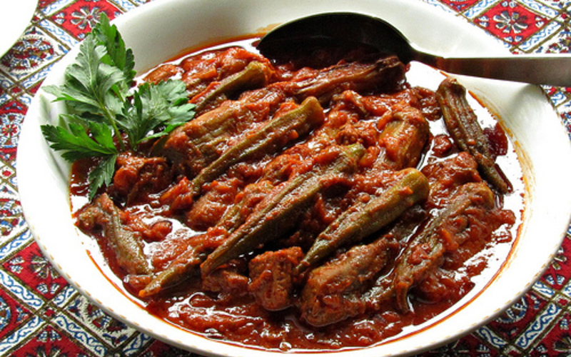 Mijoté persan aux aubergines