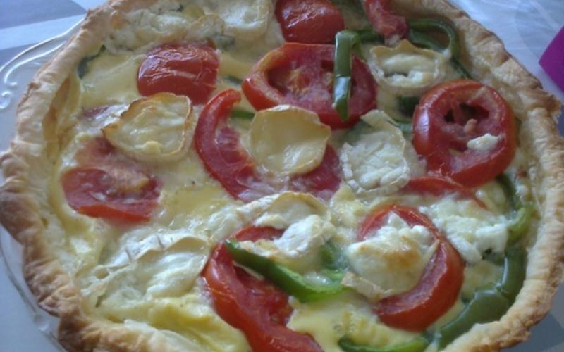 quiche  veggie (100% Healthy , 100% délicieuse)