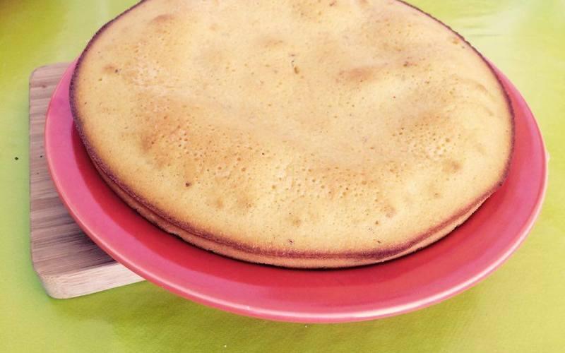 Gâteau au chocolat blanc