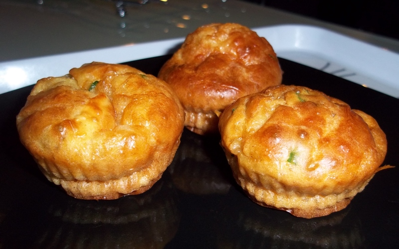 Muffin fromages et ciboulette