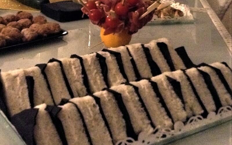Mini sandwichs pour buffet de Noël