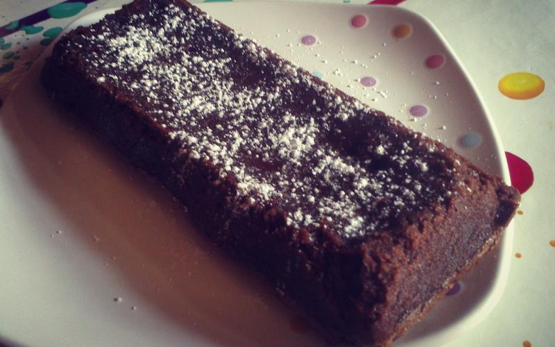 Fondant super facile crème de marron - chocolat