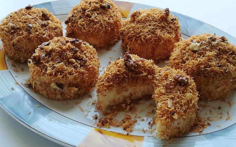 Dessert  au kadayif
