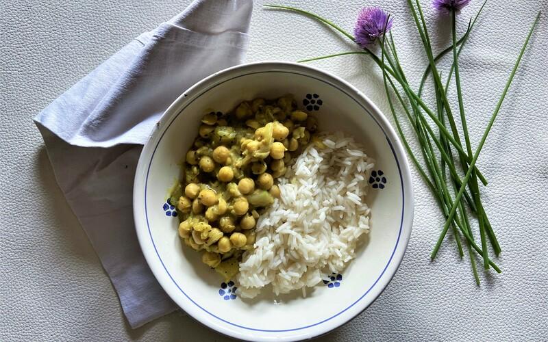Curry Vegan aux pois chiches