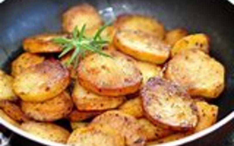 pommes de terre sautées, dorées et croustillantes