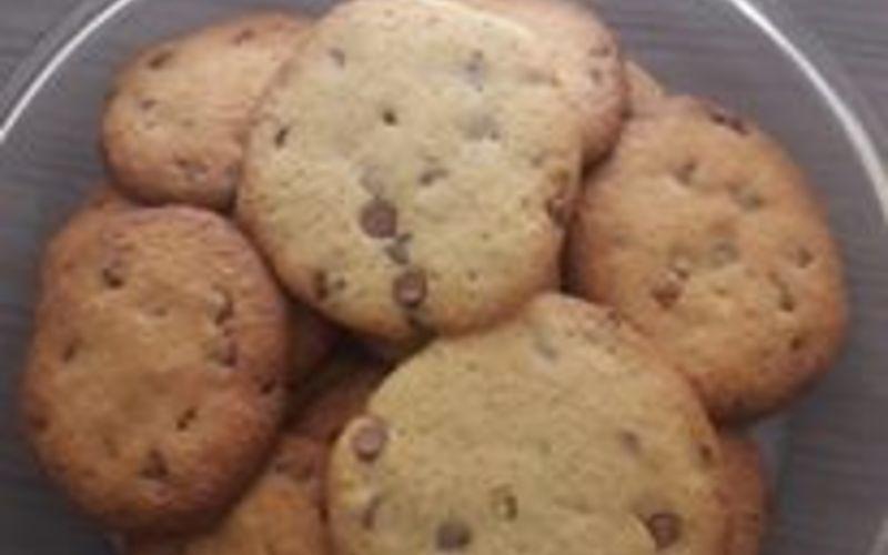Cookies maison nature/pépites/m&m's chocolat