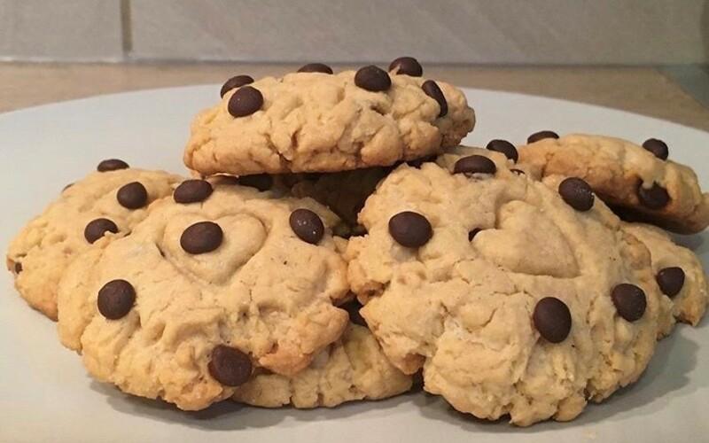 Cookies beurre de cacahuète-pépites de chocolat