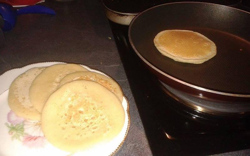Recette pancakes faciles et sans oeuf pas ch re et simple - Cuisine sans four etudiant ...