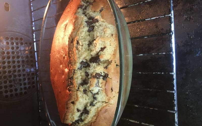 Gâteau noisette pépite de chocolat