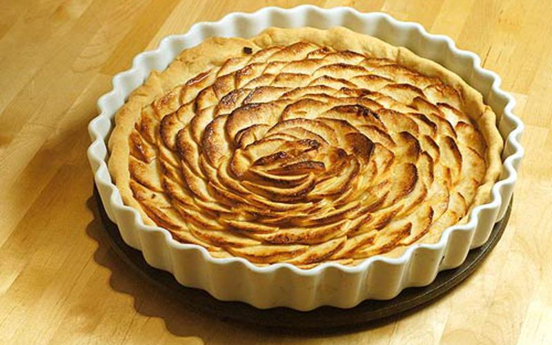 recette tarte aux pommes pas ch re cuisine tudiant. Black Bedroom Furniture Sets. Home Design Ideas