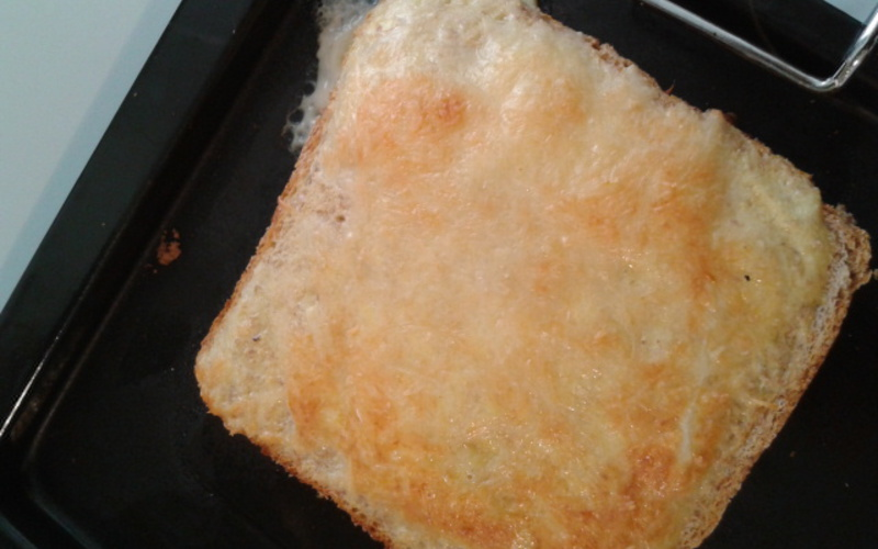 Croque Monsieur light