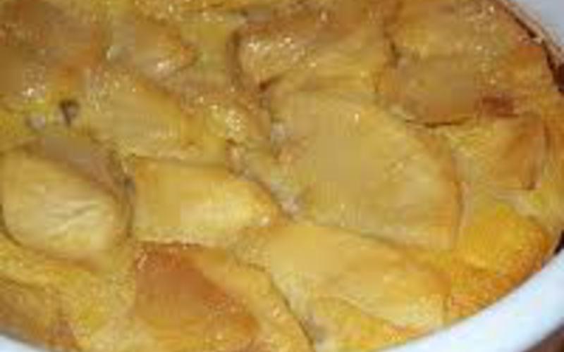 Clafoutis poire-cannelle