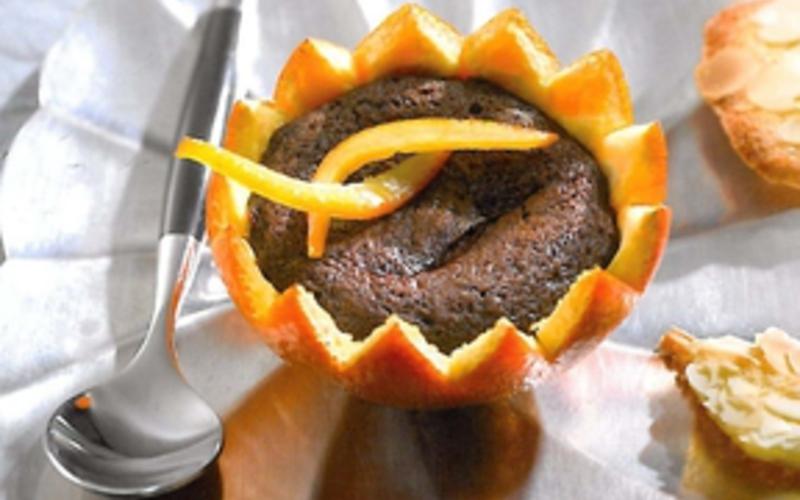 Oranges au chocolat