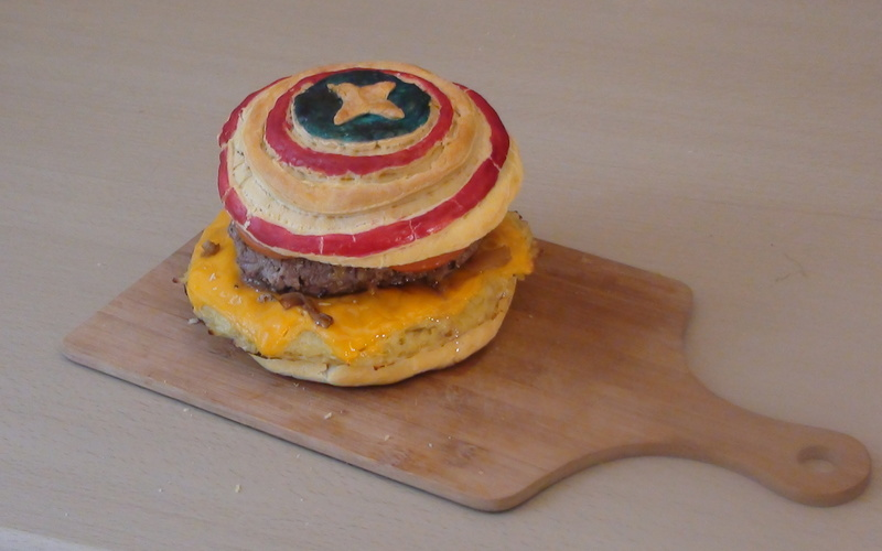 Captain America Burger