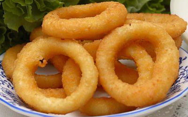 Onions rings léger et sans friteuse