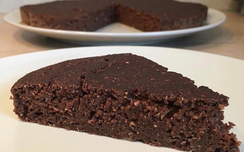 Gâteau moelleux chocolat-courgettes